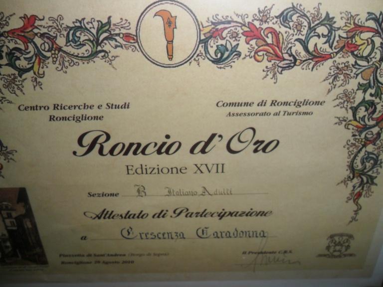 RONCIO D'ORO