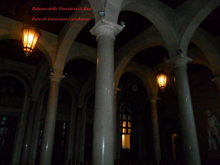 Palazzo della Provincia di Bari Location