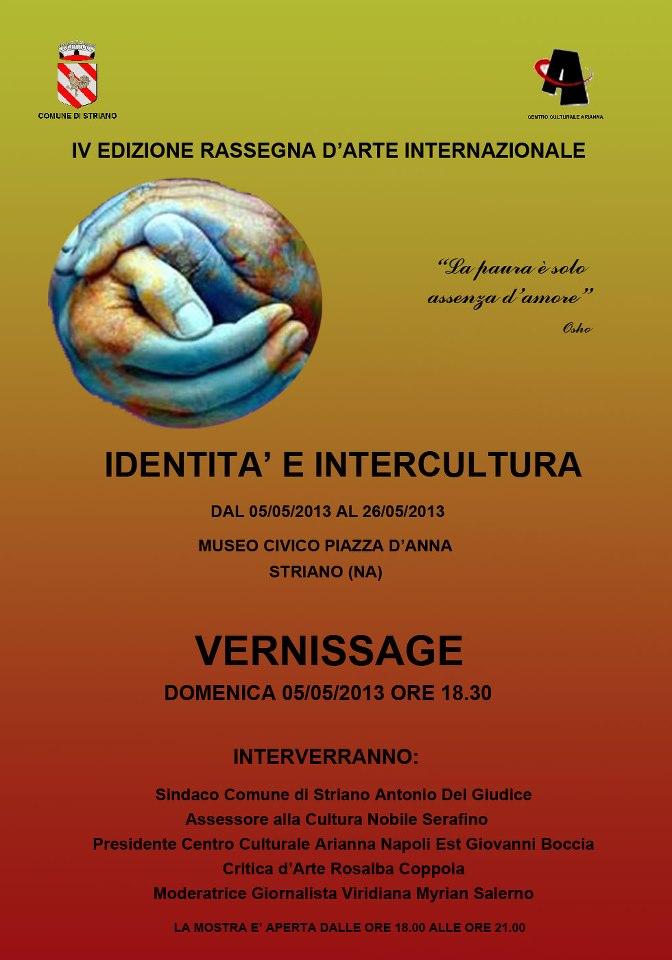 IV EDIZIONE RASSEGNA D'ARTE INTERNAZIONALE IDENTITA' E INTERCULTURA