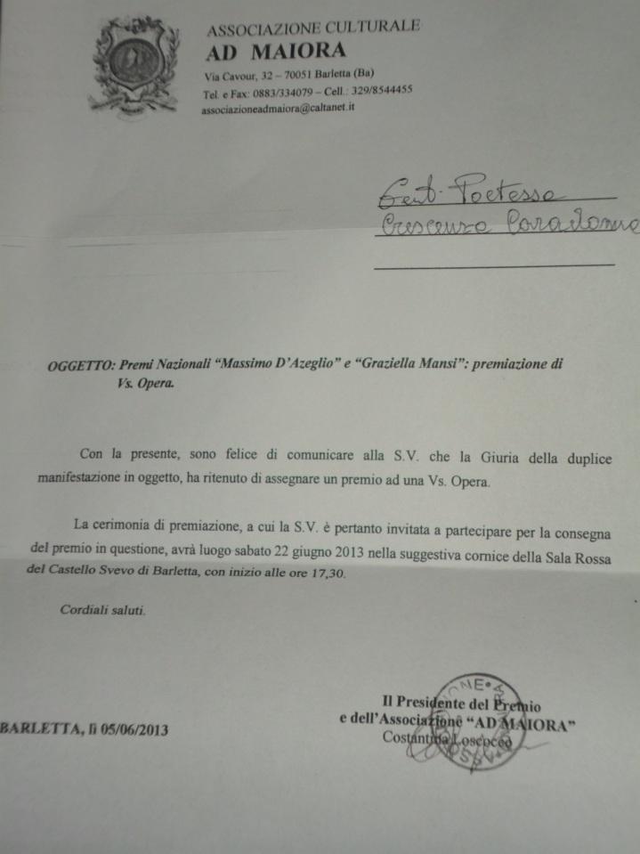 PremioLetterario M. D'Azeglio