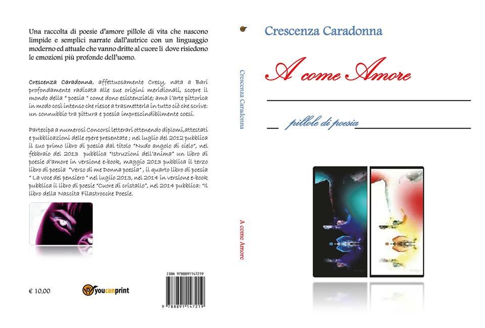 Libro di poesia di Crescenza Caradonna