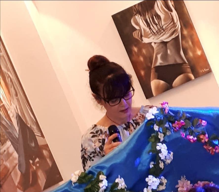 Premiazione dei primi classificati presso GLOBALART Galleria d'Arte – Noicattaro di Rosa Didonna- art. di Crescenza Caradonna