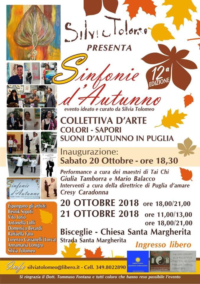 Sinfonie d'autunno XII -MOSTRA D'ARTE ED INCONTRI CULTURALI- -Bisceglie-