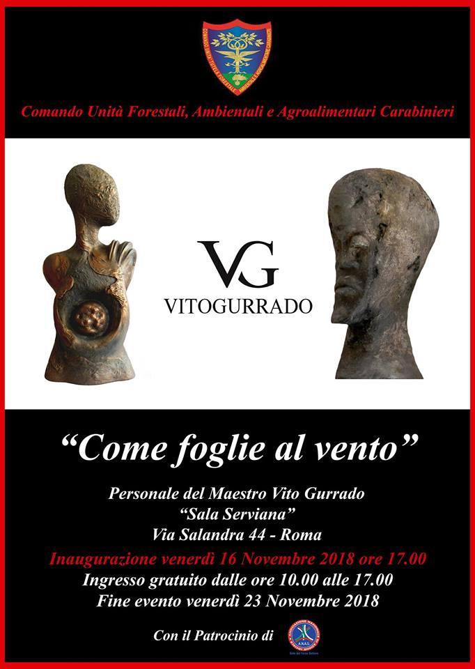 """""""Come foglie al vento"""" Mostra opere di Vito Gurrado"""