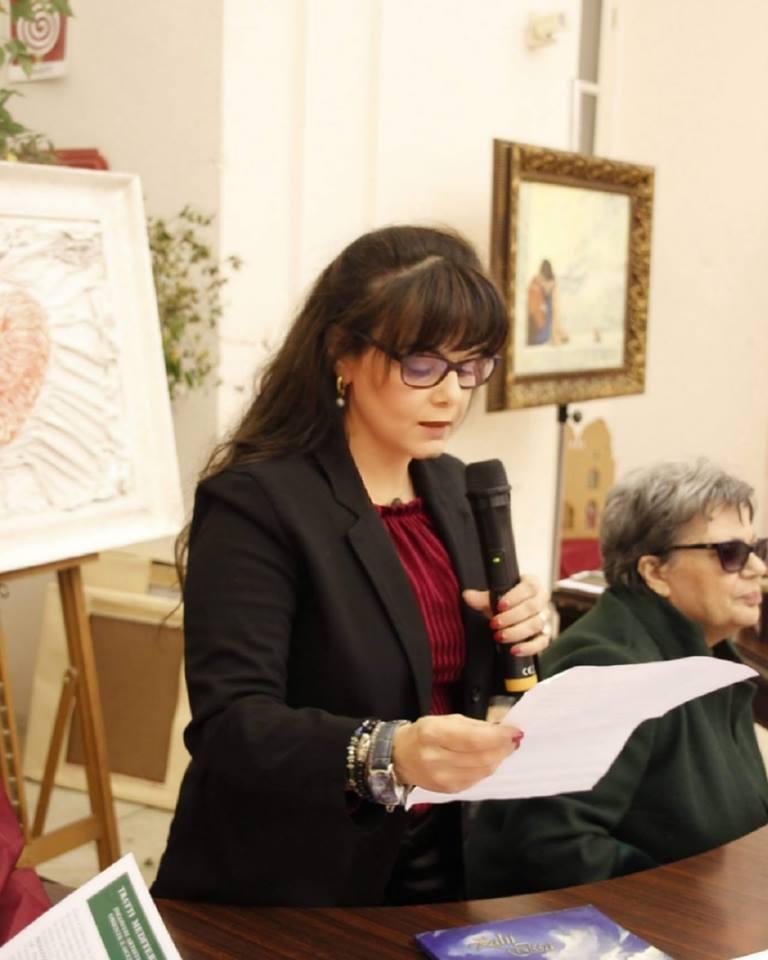 """Immagine d'artista"" poesia di Crescenza Caradonna"