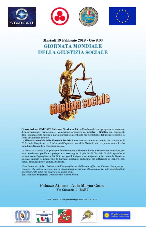 La giornata mondiale della giustizia sociale