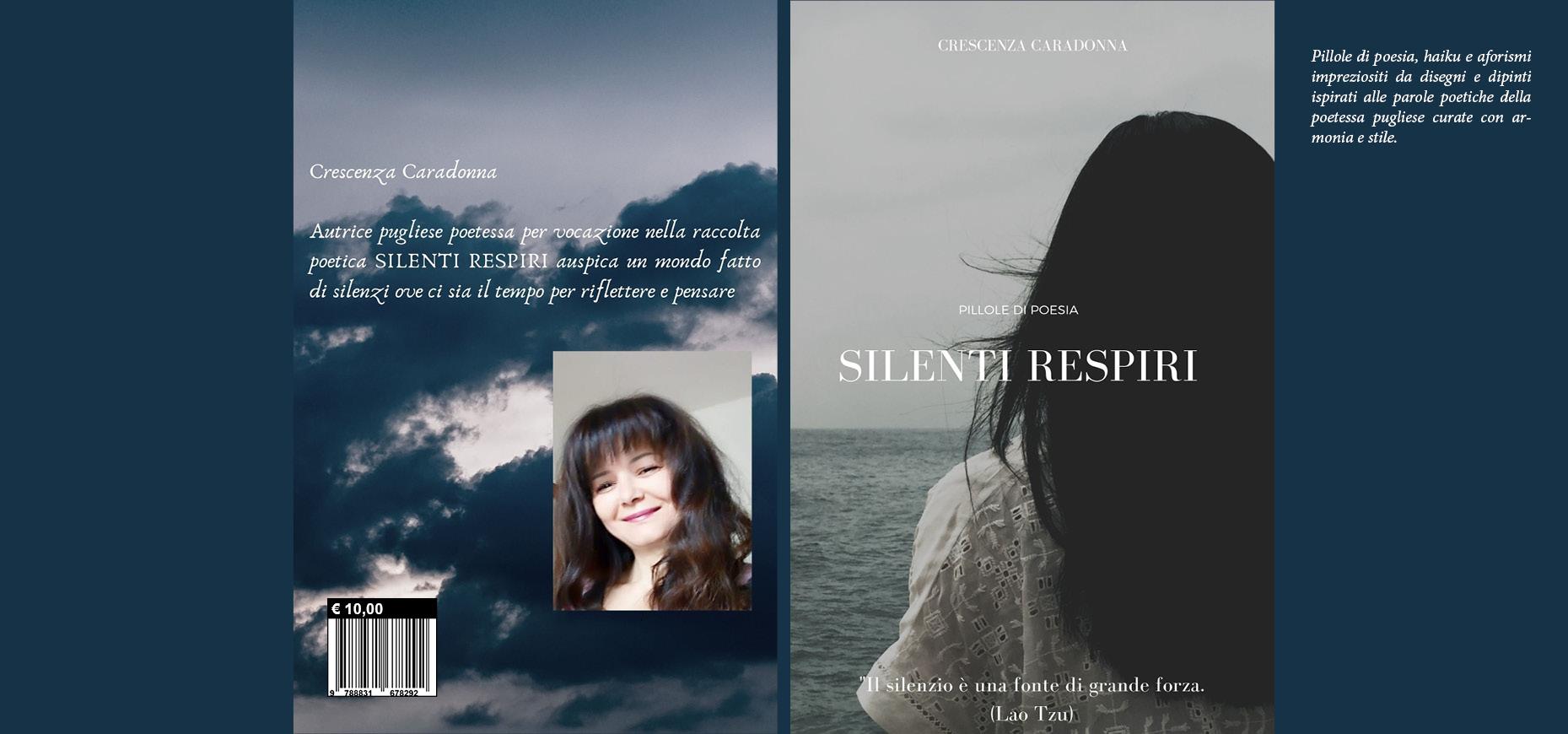 LIBRO POESIE: SILENTI RESPIRI di CRESCENZA CARADONNA