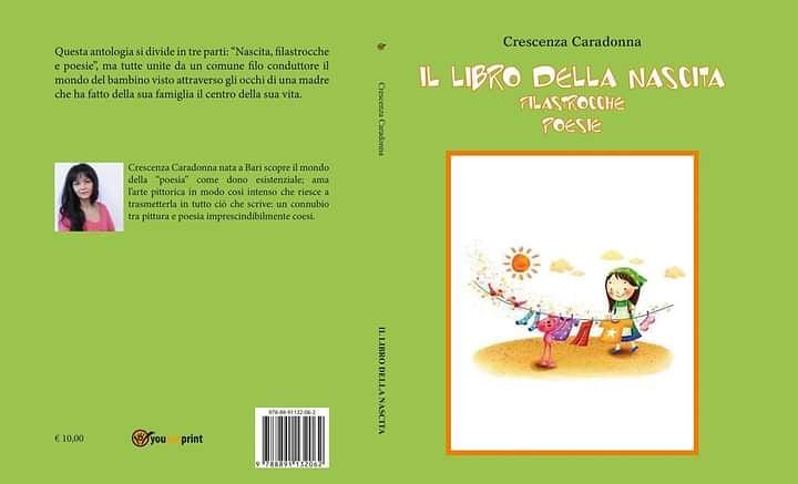 """""""IL LIBRO DELLA NASCITA FILASTROCCHE POESIE"""" di CRESCENZA CARADONNA"""