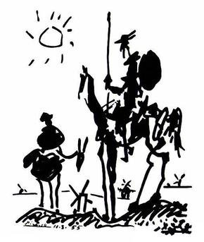 Don Chisciotte di Pablo Picasso
